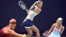 YouTube: Maria Sharapova y las bellezas del Abierto de Australia