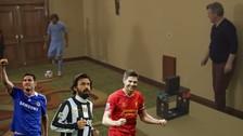 YouTube: Andrea Pirlo, Frank Lampard y Steven Gerrard en duelo de precisión
