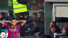 YouTube: Luis Enrique descargó su furia por culpa de Dani Alves