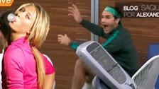 YouTube: Roger Federer perdió la calma por Maria Sharapova