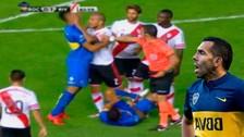 YouTube: el River Plate vs. Boca Juniors terminó con pelea