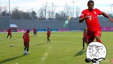 YouTube: Douglas Costa sorprende este increíble  control de balón