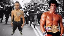 YouTube: Jonathan Maicelo corrió a lo Rocky Balboa en Filadelfia