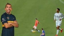 Youtube: el día que Cristiano Ronaldo dio un pase gol de taco a Carlos Tévez