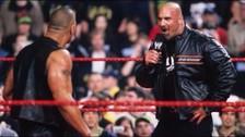 WWE: el día que Goldberg destrozó a The Rock