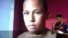 ¿De qué equipo era hincha Neymar cuando tenía 12 años de de edad?
