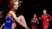 Cristiano Ronaldo y otros futbolistas que gustan de mujeres mayores