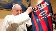 YouTube: el día que San Lorenzo declaró 'persona no grata' al Papa Francisco