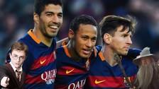Luis Enrique reveló su secreto para que Messi, Suárez y Neymar jueguen juntos