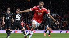 Marcus Rashford salvó al Manchester United en su debut en el equipo