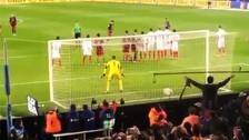 Video: el golazo de tiro libre de Lionel Messi visto desde la tribuna