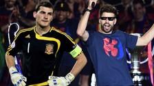 Gerard Piqué troleó a Iker Casillas en Twitter por 'tacaño'