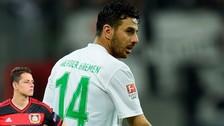 Video: Claudio Pizarro marcó un golazo con el Werder Bremen
