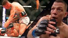 Nate Díaz sometió a Conor McGregor en evento estelar de la UFC 196