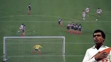 El mejor gol de Teófilo Cubillas  con la Selección Peruana