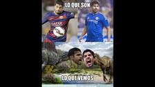 Luis Suárez protagoniza los memes tras mordida de Diego Costa en Chelsea