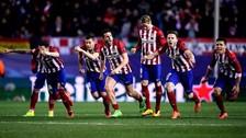 Atlético Madrid venció por penales al PSV y pasó de ronda en la Champions League