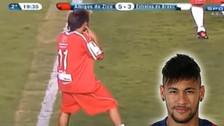 YouTube: el día que Neymar habló por celular durante un partido