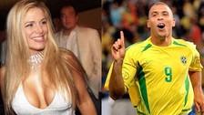 Ronaldo y su ex novia que incursionó en la industria del cine para adultos