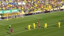 Neymar convirtió este polémico penal en el Barcelona vs. Villarreal