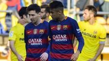 Barcelona empató 2-2 con el Villarreal por la Liga BBVA