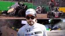 Fernando Alonso salvó de morir tras brutal accidente en GP de Australia