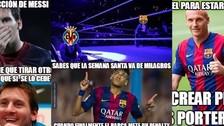 Facebook: Barcelona es víctima de memes tras empatar con Villarreal