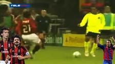 YouTube: el día que Ronaldinho humilló a Pirlo y a Gattuso
