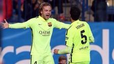 Rakitic y Busquets son dudas para el Barcelona vs Real Madrid