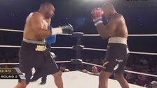 YouTube: boxeador noqueó a fanático que subió al ring a desafiarlo