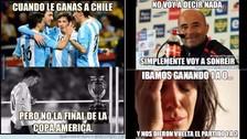 Chile vs. Argentina: los memes de la derrota de la 'Roja'