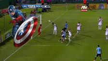 Video: Christian Ramos salvó a la Selección Peruana del gol uruguayo