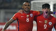Venezuela 1 vs. 4 Chile: la 'Roja' ganó de la mano de Arturo Vidal