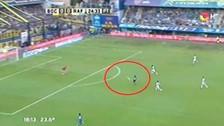 Video: Carlos Tévez marcó un impresionante gol con Boca Juniors