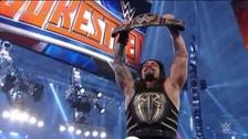WWE Wrestlemania 32: Roman Reigns venció a Triple H y ganó el título