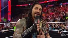 WWE: Roman Reigns fue duramente abucheado en RAW tras Wrestlemania