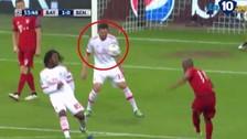 Bayern Munich vs Benfica: Douglas Costa y su potente disparo