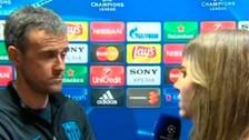 Luis Enrique rindió la entrevista más tensa en su estancia en el Barcelona