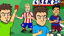 YouTube: se burlan del Barcelona vs. Atlético Madrid con parodia