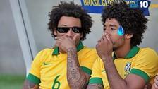 Real Madrid vs. Wolfsburgo: Marcelo trolea a Dante por su corte de pelo