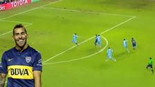YouTube: Carlos Tévez marcó este golazo en la Copa Libertadores