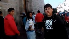 Facebook: hinchas chilenos protagonizaron incidentes en Arequipa