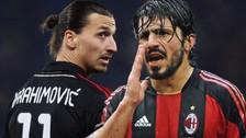 Video: El día que Gennaro Gattuso golpeó en la cara a Zlatan Ibrahimovic