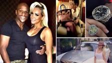 Floyd Mayweather regaló un lujoso auto a su novia Doralie Medina