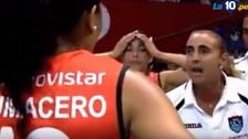 YouTube: Natalia Málaga explotó en el César Vallejo vs. Regatas Lima