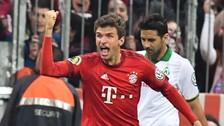 Claudio Pizarro: Bayern Munich ganó 2-0 a Werder Bremen por la Copa Alemana