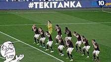 YouTube: jugadores del AC Milan realizaron una coreografía al estilo haka