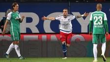 Claudio Pizarro: Werder Bremen perdió 2-1 ante Hamburgo y se complica con la baja