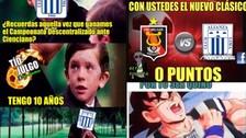 Facebook: Alianza Lima es blanco de memes tras caer ante Melgar