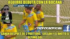 Wilmer Aguirre generó 'memes' tras su vuelta con gol en triunfo de La Bocana